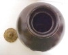 Click to view larger image of Stoneware Crock Jug Dark Chocolate With Lid (Image2)