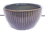 Click here to enlarge image and see more about item GLASS3674: Pottery Bowl Arts & Crafts Style Cobalt ZSC