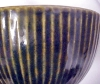 Click to view larger image of Pottery Bowl Arts & Crafts Style Cobalt ZSC (Image4)