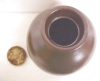 Click to view larger image of Stoneware Crock Jug Creamy Chocolate Bronze (Image3)