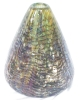 Click to view larger image of Hand Blown Glass Vase Exquisite Colors Signed (Image2)