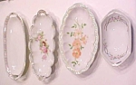 Click to view larger image of Celery Dishes Germany France 1900's 4 Pc Haviland MZ (Image1)