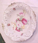Click to view larger image of TL Barvarian Porcelain Bowl Roses 10 inch (Image1)