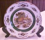 Click here to enlarge image and see more about item Kitch224: Wood & Sons Ascot Plate Ironstone