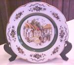 Click here to enlarge image and see more about item Kitch227: Wood & Sons Ascot Plate Ironstone