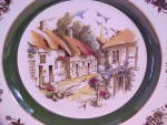 Click to view larger image of Wood & Sons Ascot Plate Ironstone (Image2)