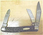 Click here to enlarge image and see more about item KNIFE108: Monarch Stockman Pocket Knife 3 Blade