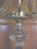 Click to view larger image of Candelabra Lamp Brass Marble Exquisite Large (Image4)