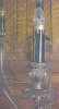 Click to view larger image of Candelabra Lamp Brass Marble Exquisite Large (Image7)