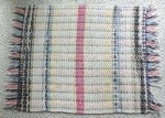 Click to view larger image of Rag Rug Pastel Country Primitive (Image1)