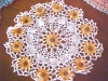 Click to view larger image of Colorful Crochet Doilies + Runner Scarf (Image2)