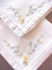 Click to view larger image of Vintage Napkins Fiesta Colors Embroidery 8 PC (Image2)