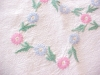 Click to view larger image of Vintage Tablecloth Embroidered Flowers (Image2)