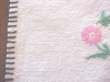 Click to view larger image of Vintage Tablecloth Embroidered Flowers (Image3)