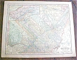 Click to view larger image of Antique Map Quebec Nova Scotia 1901 (Image1)