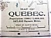 Click to view larger image of Antique Map Quebec Nova Scotia 1901 (Image2)