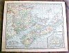 Click to view larger image of Antique Map Quebec Nova Scotia 1901 (Image3)