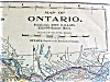 Click to view larger image of Antique Map Ontario Mexico 1901 (Image2)