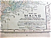 Click to view larger image of Antique Map Maine & South America 1901 (Image2)
