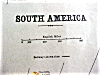 Click to view larger image of Antique Map Maine & South America 1901 (Image4)