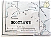 Click to view larger image of Antique Map Scotland Sweden Norway 1901 (Image2)