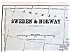 Click to view larger image of Antique Map Scotland Sweden Norway 1901 (Image4)
