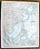 Click to view larger image of Antique Map Africa China Malaysia Japan 1901 (Image3)