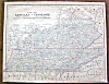 Click to view larger image of Antique Map Minnesota Kentucky Tennessee 1901 (Image3)