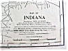 Click to view larger image of Antique Map Indiana 1901 Large Fold Out (Image2)