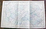 Antique Map Pennsylvania 1901 Large Foldout