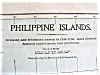Click to view larger image of Antique Map Philippine Islands 1901 Large Foldout (Image2)