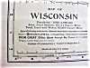 Click to view larger image of Antique Map Wisconsin 1901 Large Foldout (Image2)