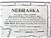 Click to view larger image of Antique Map Nebraska 1901 Large Foldout (Image2)