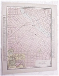 Antique Map Iowa State Minneapolis Streets 1917 Rand