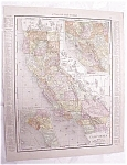 Click to view larger image of Antique Map California San Francisco Streets 1917 Rand (Image1)