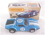 Click here to enlarge image and see more about item MB113: Matchbox DE TOMASO PANTERA No. 8 NMIB