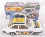Click here to enlarge image and see more about item MB117: Matchbox No. 9 Ford RS 2000 MIB