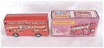 Click here to enlarge image and see more about item MB125: Matchbox No. 17 The Londoner Bus MIB