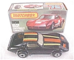 Click here to enlarge image and see more about item MB172: Matchbox No. 62 Chevrolet Corvette MIB Black