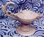 Click here to enlarge image and see more about item METAL200: Antique Incense Burner Ornate Unusual