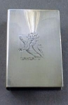 Click to view larger image of Handsome Sterling Silver Match Box Cover (Image1)