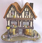 Click here to enlarge image and see more about item MUSIC485: Reuge Cottage Music Box Tea Shoppe Pauline Ralph