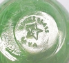 Click to view larger image of Gentile Glass Paperweight Green Millifiore (Image3)