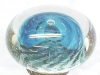 Click to view larger image of Artist Glass Paperweight Blue Anemone (Image4)