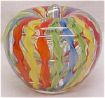 Click to view larger image of Latticino Paperweight Perfume Bottle (Image1)