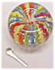 Click to view larger image of Latticino Paperweight Perfume Bottle (Image2)