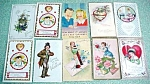 Click here to enlarge image and see more about item PC029: Postcard Lot Valentines New Years Easter 49PC
