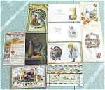 Click here to enlarge image and see more about item PCTH01: Postcard Lot Thanksgiving Clapsaddle Griggs Winsch Tuck