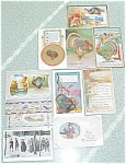 Click here to enlarge image and see more about item PCTH16: Postcard Lot Thanksgiving Winsch Reichner Germany