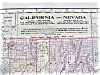 Click to view larger image of Antique Map California Nevada Alaska Hawaii 1906 Large (Image2)